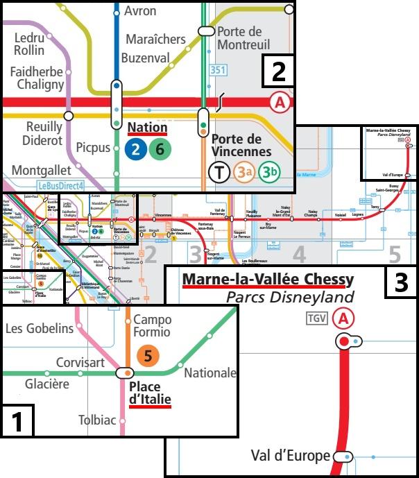 Mappa dello spostamento