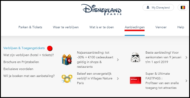 Come trovare le offerte sul sito ufficiale belga