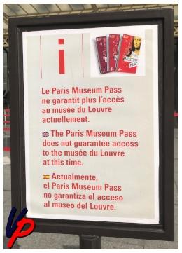 Il PMP non garantisce più l'accesso al Louvre