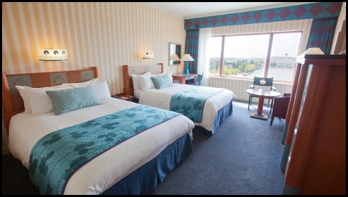Camera standard dell'hotel New Yok