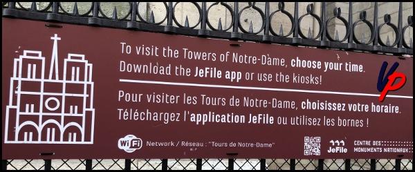 Come visitare le torri di Notre Dame? Per gentile concessione di Ice