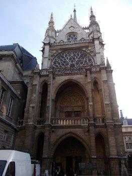 Facciata della Sainte Chapelle