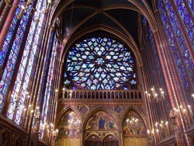 Il rosone della Sainte Chapelle