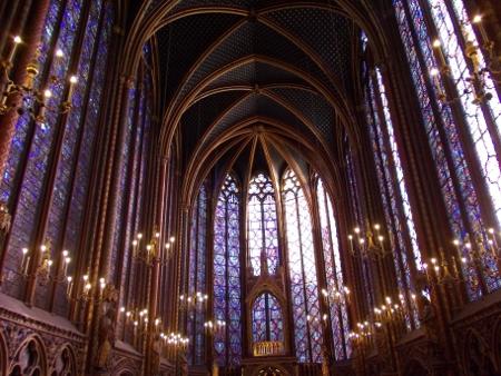 Interni della Sainte Chapelle