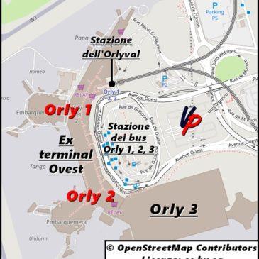 Orly 1 e Orly 2 (l'ex terminal Ovest dell'aeroporto di Orly)