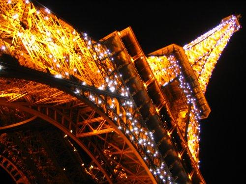 La tour Eiffel che sbrilluccica