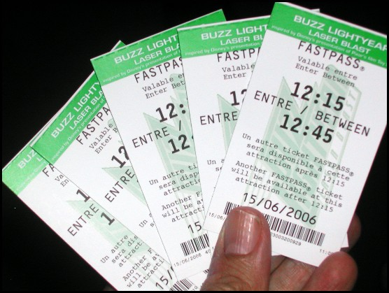 Biglietti Fastpass per Buzz Lightyear