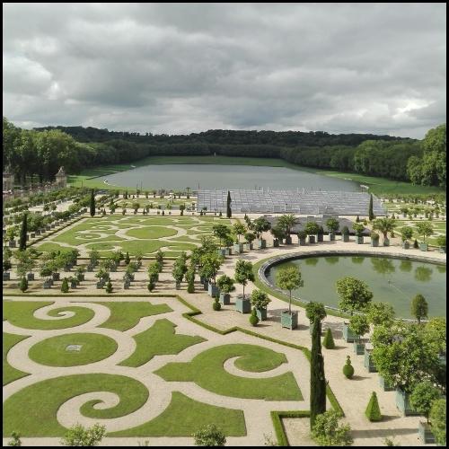 L'Orangerie della reggia di Versailles