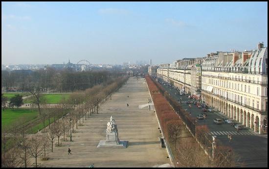 Il Jardin des Tuileries, il luogo dove si svolgerà il mercatino