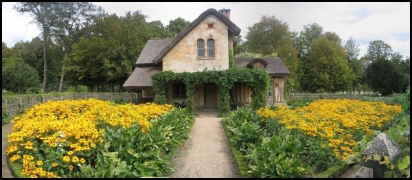 La maison du garde nell'hameau de la Reine
