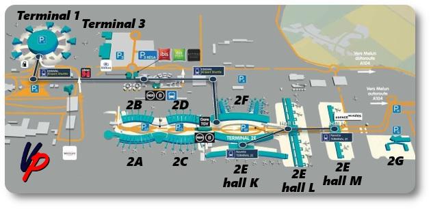 I terminal dello CDG
