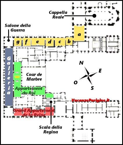 Figura 3: l'aspetto attuale del primo piano dello château