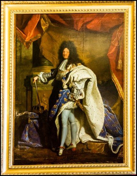 Luigi XIV a 63 anni