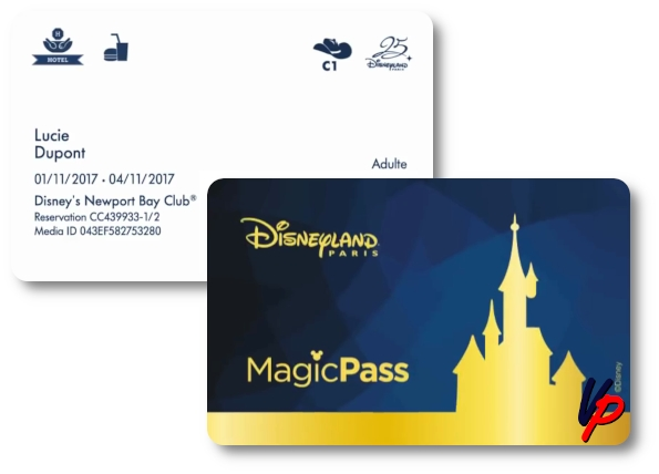 Il fronte e il retro del Magic Pass