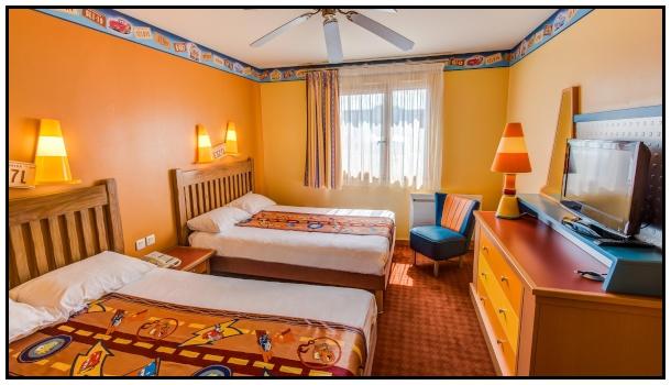 La camera – tipo dell'hotel Santa Fe