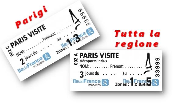 Paris Visite: un abbonamento ai trasporti pubblici non sempre conveniente