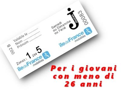 Ticket Jeunes Week-end: un abbonamento giornaliero per i giovani