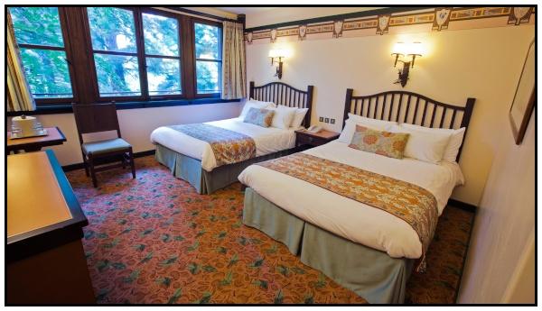 Camera-tipo dell'hotel Sequoia Lodge