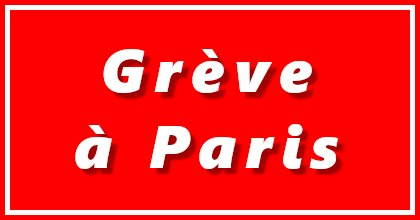 Sciopero del trasporto pubblico a Parigi