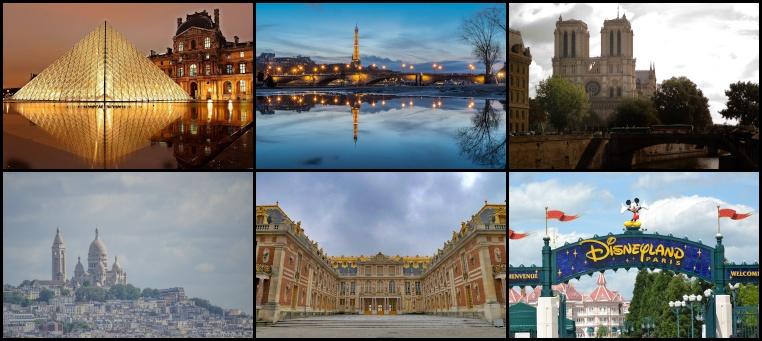 Cosa fare a Parigi e dintorni?